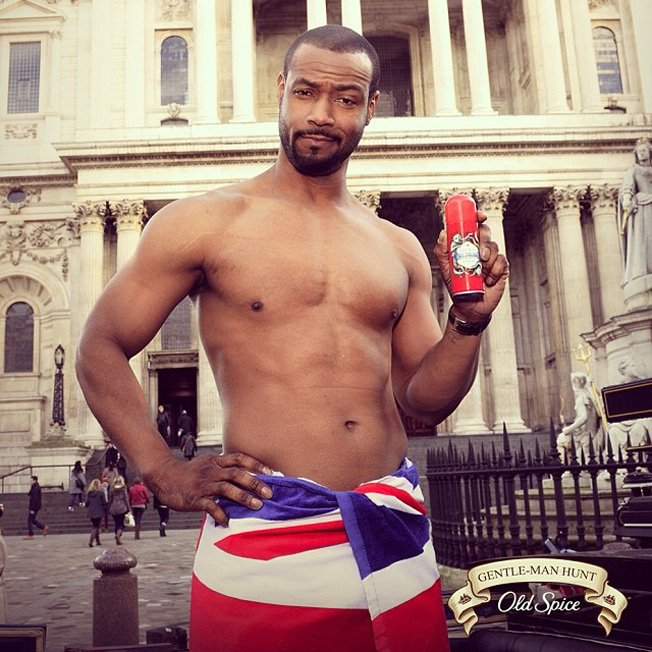 Image result for old spice isaiah mustafa